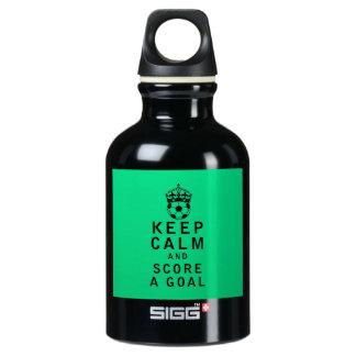 Keep Calm and Score a Goal SIGG Traveller 0.3L Water Bottle