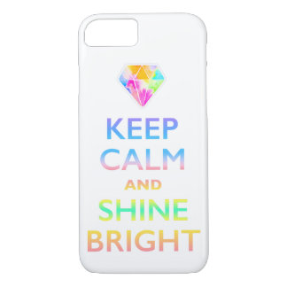 KEEP CALM AND SHNE BRIGHT iPhone 8/7 CASE