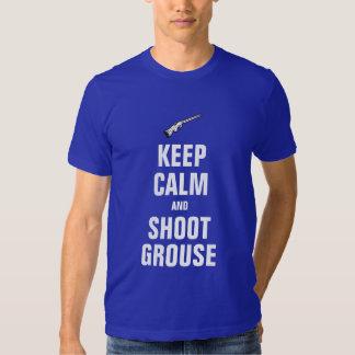 Keep calm and shoot Grouse T-shirt
