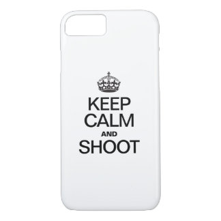 KEEP CALM AND SHOOT iPhone 7 CASE