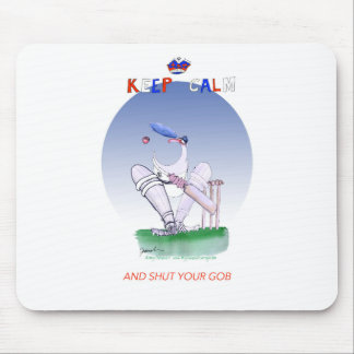 keep calm and shut your gob, tony fernandes mouse mat
