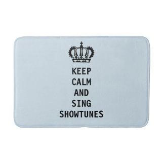Keep Calm and Sing Showtunes Bath Mat