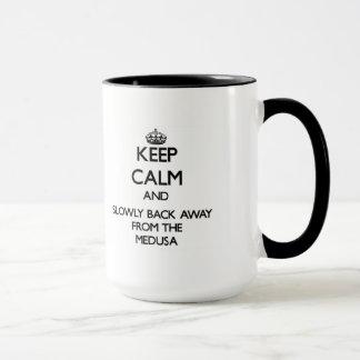 Keep calm and slowly back away from Medusas Mug