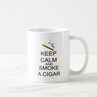 Keep Calm And Smoke A Cigar Coffee Mug