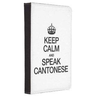 KEEP CALM AND SPEAK CANTONESE KINDLE TOUCH CASE