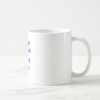 Keep Calm and Spin On Basic White Mug