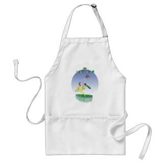 keep calm and spin that ball, tony fernandes standard apron