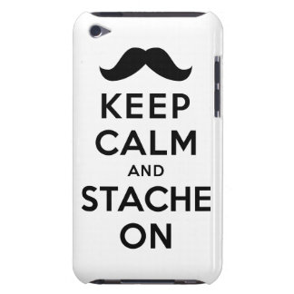 Keep Calm and Stache On iPod Touch Cover