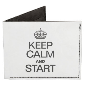 KEEP CALM AND STARE TYVEK WALLET