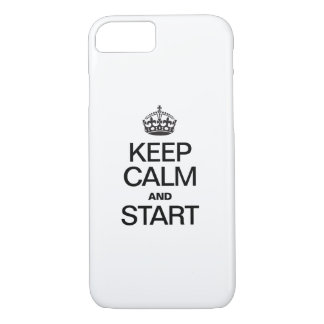 KEEP CALM AND STARE iPhone 7 CASE