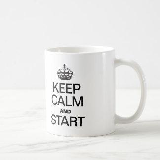 KEEP CALM AND STARE COFFEE MUGS