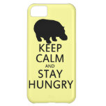 Keep Calm and Stay Hungry Cover For iPhone 5C
