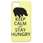 Keep Calm and Stay Hungry iPhone 5 Cases