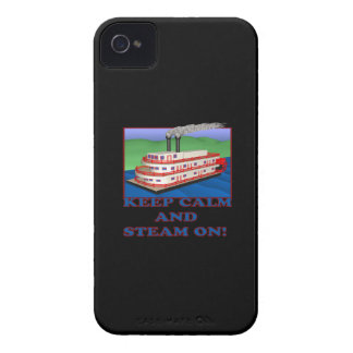 Keep Calm And Steam On iPhone 4 Case-Mate Case