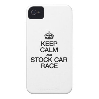 KEEP CALM AND STOCK CAR RACE Case-Mate iPhone 4 CASES
