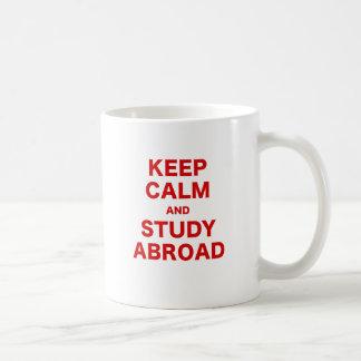 Keep Calm and Study Abroad Coffee Mug