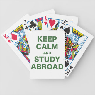 Keep Calm and Study Abroad Card Decks