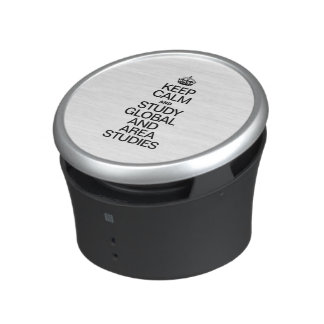 KEEP CALM AND STUDY GLOBAL AND AREA STUDIES BLUETOOTH SPEAKER