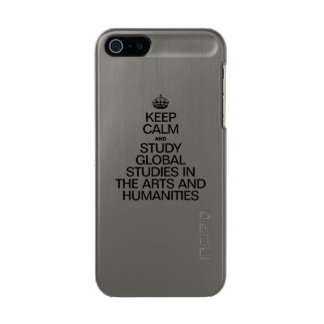 KEEP CALM AND STUDY GLOBAL STUDIES IN THE ARTS INCIPIO FEATHER® SHINE iPhone 5 CASE