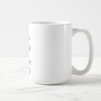 Keep Calm and Study Hard Basic White Mug