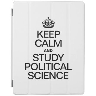 KEEP CALM AND STUDY POLITICAL SCIENCE iPad COVER