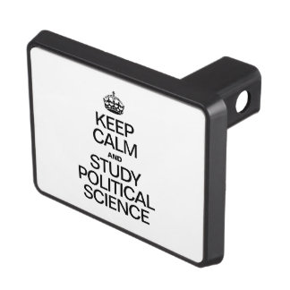 KEEP CALM AND STUDY POLITICAL SCIENCE HITCH COVERS