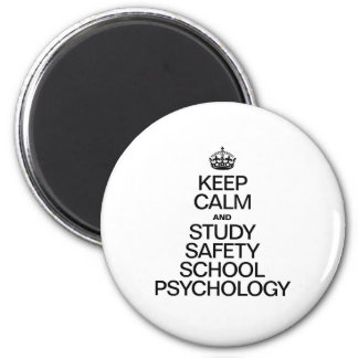 KEEP CALM AND STUDY PSYCHOLOGY MAGNET