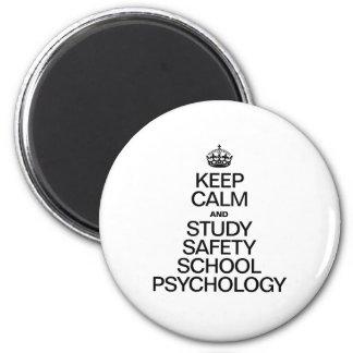 KEEP CALM AND STUDY PSYCHOLOGY FRIDGE MAGNETS