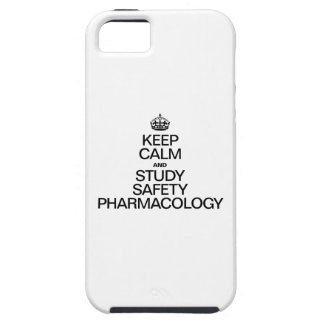 KEEP CALM AND STUDY SAFETY PHARMACOLOGY iPhone 5 COVER