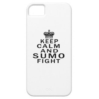 Keep Calm And Sumo Fight iPhone 5 Cases