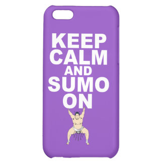 Keep Calm and Sumo On Gift Print Unique Design iPhone 5C Covers