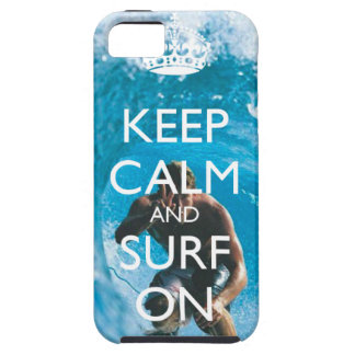 Keep calm and surf on case - Iphone 5
