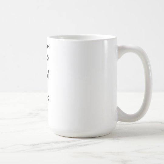 Keep Calm and Surf On Coffee Mug