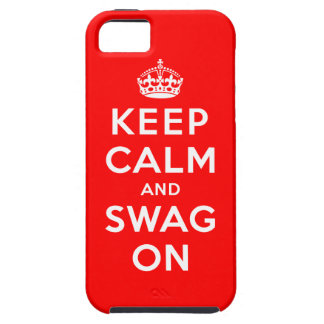 Keep Calm and Swag On Case For The iPhone 5