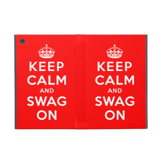 Keep Calm and Swag On Cover For iPad Mini