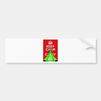 Keep Calm and tear it up for Xmas Bumper Sticker