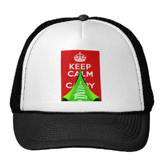 Keep Calm and tear it up for Xmas Hats