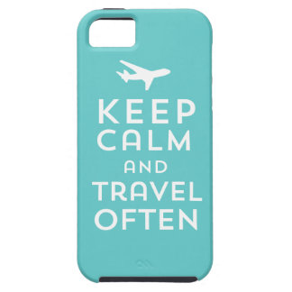 Keep Calm and Travel Often iPhone 5 Cases