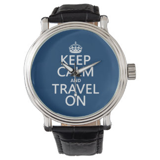 Keep Calm and Travel On Watch