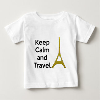 Keep Calm and Travel to Paris T-shirts