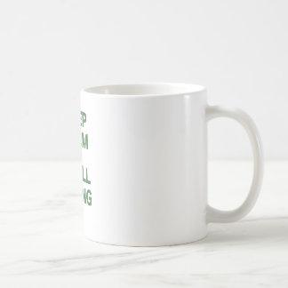 Keep Calm and Troll Along Coffee Mug