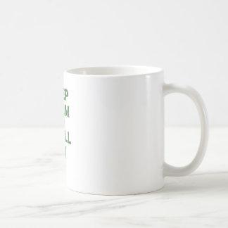 Keep Calm and Troll On Basic White Mug