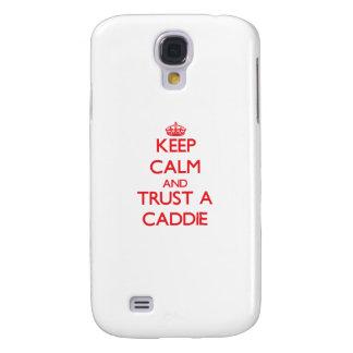 Keep Calm and Trust a Caddie HTC Vivid Cases