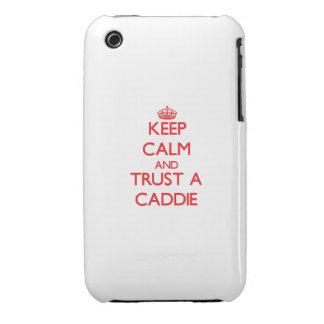 Keep Calm and Trust a Caddie Case-Mate iPhone 3 Cases
