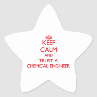 Keep Calm and Trust a Chemical Engineer Stickers
