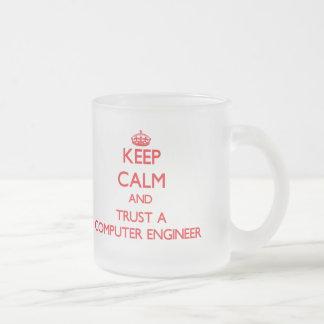 Keep Calm and Trust a Computer Engineer Coffee Mug