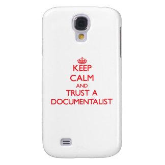 Keep Calm and Trust a Documentalist Galaxy S4 Case