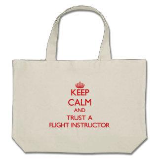 Keep Calm and Trust a Flight Instructor Bag