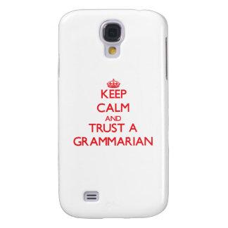 Keep Calm and Trust a Grammarian HTC Vivid Cover