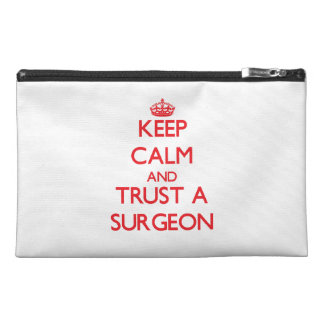 Keep Calm and Trust a Surgeon Travel Accessory Bags